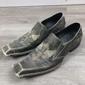 Robert Graham Men's Shoes Cross Size 11 Square Toe